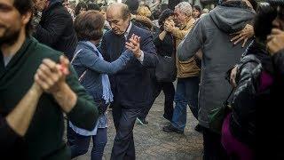 Буэнос-Айрес стал танцевальной площадкой для аргентинского танго (новости)