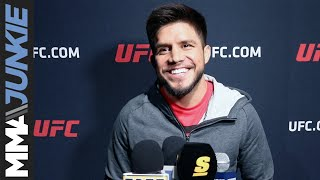 UFC 238: Henry Cejudo full open workout media scrum