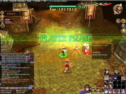 Atlantica Online TBS mission: Battle Of The Red Cliff (solo run in squad mode)