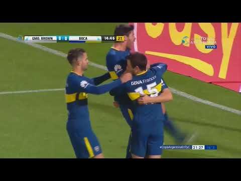 Boca Juniors vs Guillermo Brown (PM) (1-0) Copa Argentina 2017 Octavos de Final