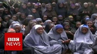 Nigeria Chibok girls  82 freed by Boko Haram   BBC News