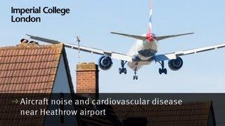 Aircraft noise and cardiovascular disease near Heathrow airport