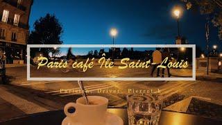 [France, Paris Café Île Saint-…