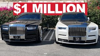 1.2 MILLION DOLLAR PHANTOM 8's MODIFIED, FORGIATO WHEELS ON A ROLLS ROYCE WRAITH, COPS FIND THIEVES.