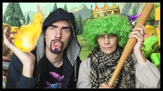 CLASH OF CLANS COSPLAY! :D w/mama