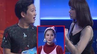 """Trường Giang vô tư nhắc đến Nam Em trên sóng truyền hình khiến Hari Won và khán giả """"ngỡ ngàng"""""""