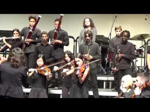 Música per als Reials Focs d'Artifici. Orquestra Simfònica. EMMCA. C. de Nadal. T. Joventut 2016.