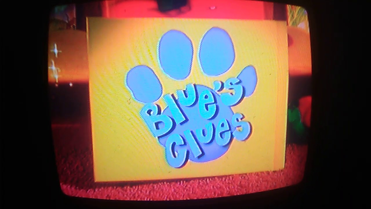 Closing To Blue's Clues Shapes And Colors DVD 2003