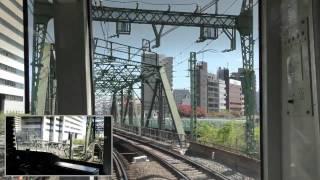 京急600形653編成 蒲田ローカル前面展望 thumbnail