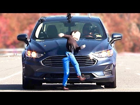 Ford Fusion (2019) Bad Result to Pedestrian Autobrake Test