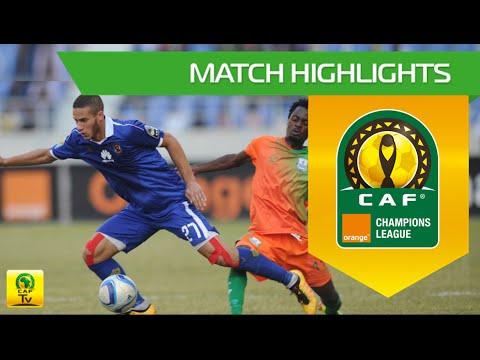 Zesco United Vs  Al Ahly SC | Orange CAF Champions League 2016