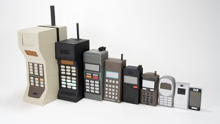 Cellular Phones - Evolution of the Cell Phone (1973-2015)