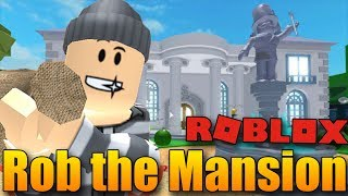 THE BEST OBBY I'VE EVER PLAYED! 😱😍 | ROBLOX: Rob the Mansion Obby