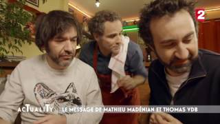 Mathieu Madénian & Thomas VDB testent le Beaujolais nouveau