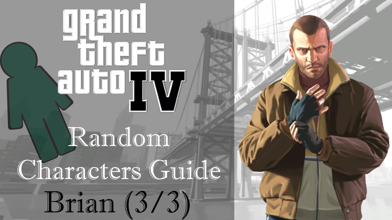Gta Iv Random Characters Brian 33 Encounter