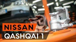 Hogyan cseréljünk Dobfék fékpofa NISSAN QASHQAI / QASHQAI +2 (J10, JJ10) - online ingyenes videó