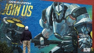 """Join Us"" Murals Time Lapse 