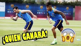 """Messi vs Neymar"" 