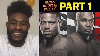 MMA Pros Pick Kevin Holland vs Derek Brunson Part 1 I UFC Vegas 22
