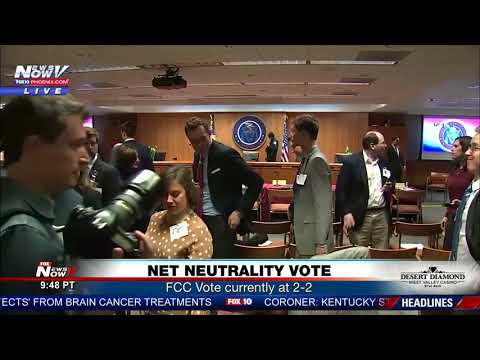 BREAKING: Bomb Threat During FCC Net Neutrality Vote (FNN)