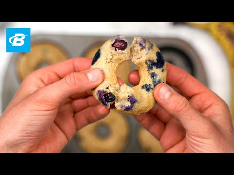 blueberry-banana-protein-donuts-|-isopure-protein