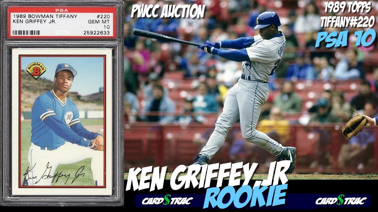669d0e8b7c 1989 Ken Griffey Bowman Tiffany rookie card #223 for sale; graded PSA 10 @  PWCC Auctions