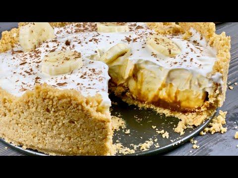 Безумно вкусный и простой торт без выпечки из печенья с бананом
