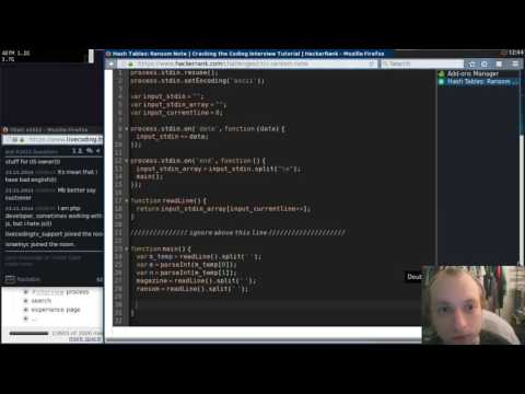 HackerRank Cracking the Coding Interview Challenges in JavaScript and Python
