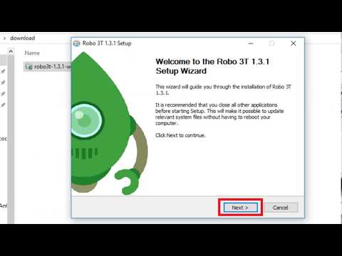 How To Download & Install Robo3T Or RoboMongo In Windows - Hindi