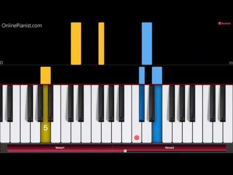Joy to the World - EASY Piano Tutorial - How to play Joy to the World on piano