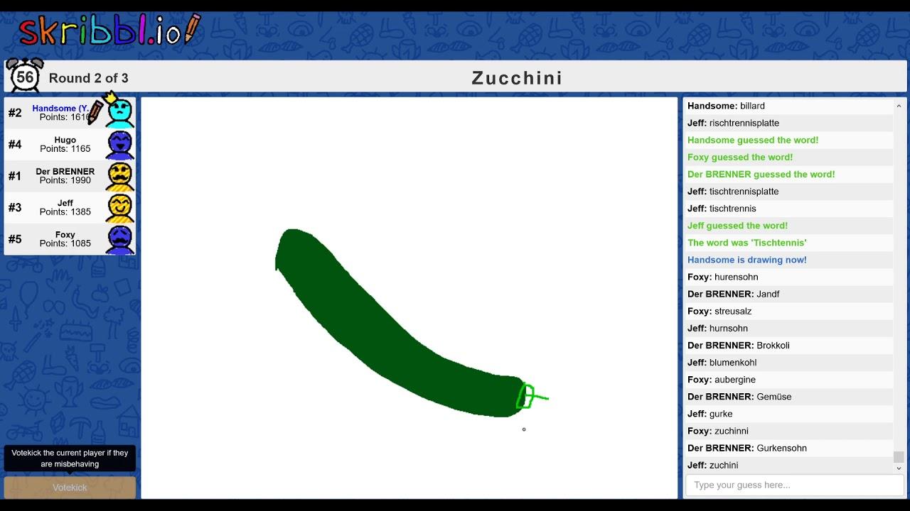Skribbl Io Wörter Liste Deutsch