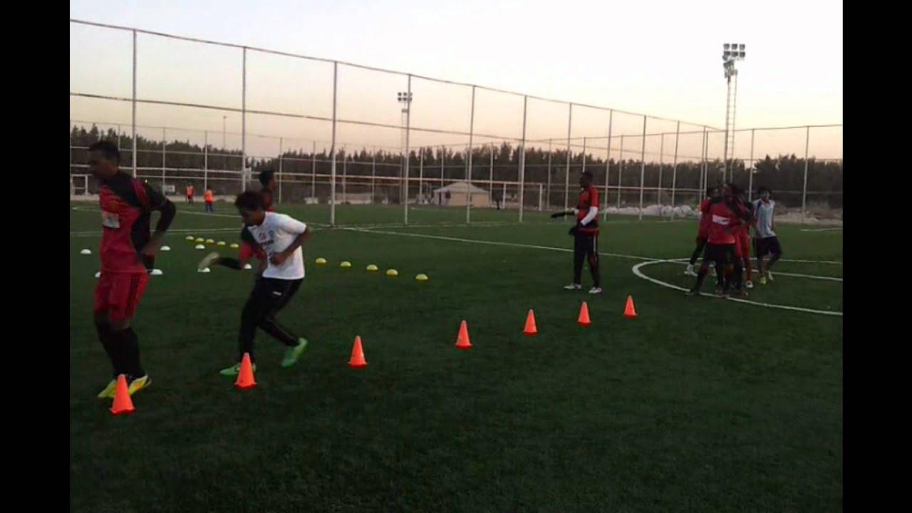 تمارين للاعبي كرة القدم