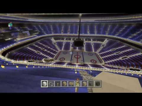 Minecraft: St Louis blues Scottrade center tour