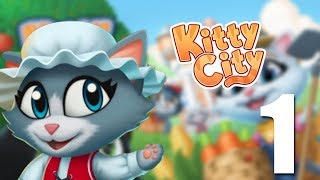 Kitty City iOS Gameplay - Cute Farm Simulator Game