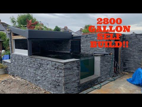 2800 Gallon self built Koi Pond - COSTINGS!!!