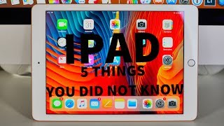 iPad 9.7 (2018) - 5 THINGS You Didn't Know!