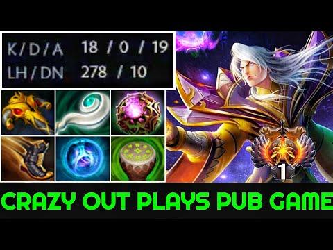 Armel [Invoker] Crazy Top 1 MMR Out Plays Pub Game Unkillable Boss 7.23 Dota 2