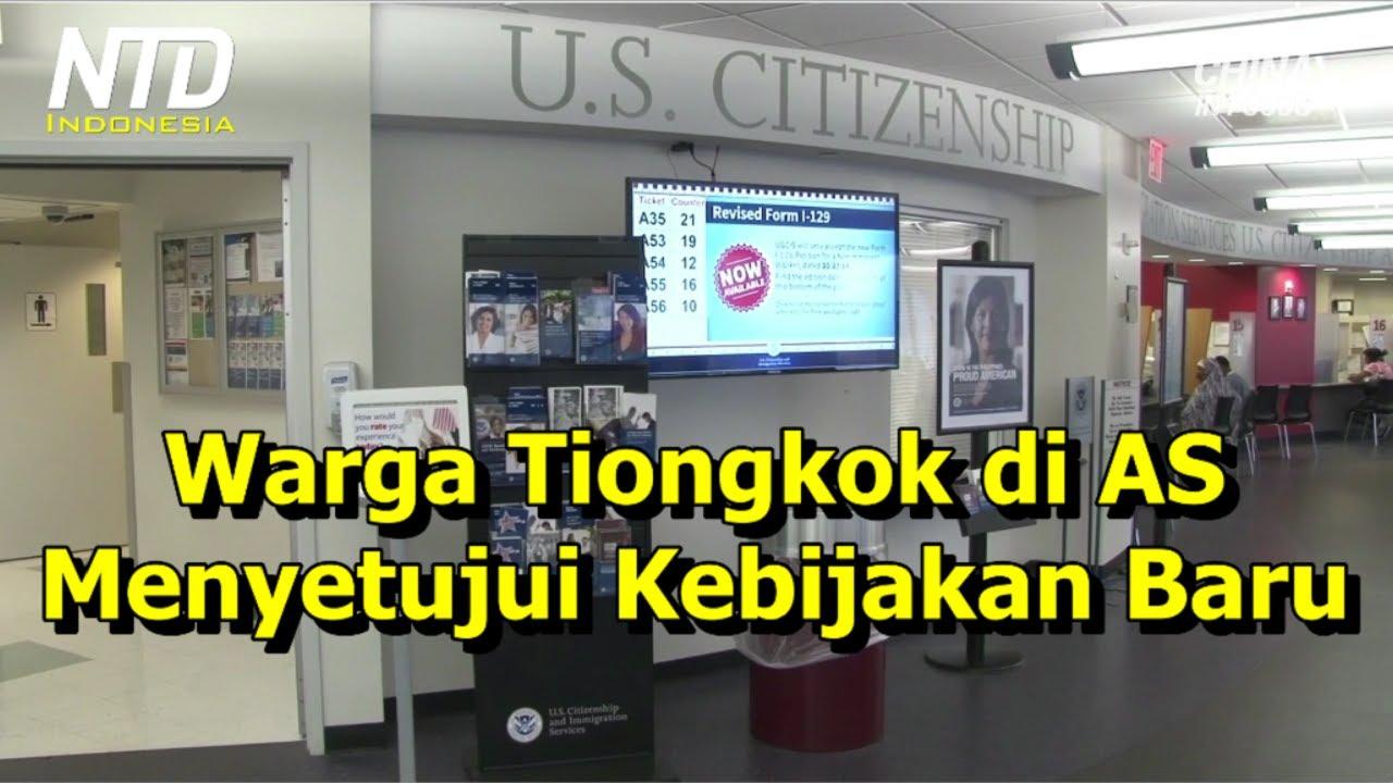 Warga Tiongkok di AS, Menyambut Baik Kebijakan Baru AS Terkait Pelarangan Anggota PKT