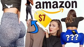 One of BusybeeCarys's most viewed videos: TESTING AMAZON ACTIVE WEAR LEGGINGS | WELL THIS WAS INTERESTING...