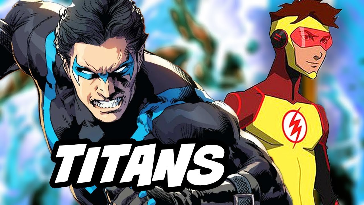 titans episode 1 cast and young justice season 3 breakdown