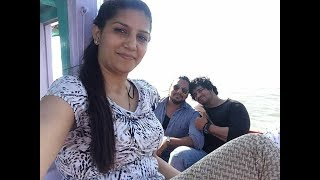 Sapna Chaudhary visit Mumbai Beach with Bodyguards