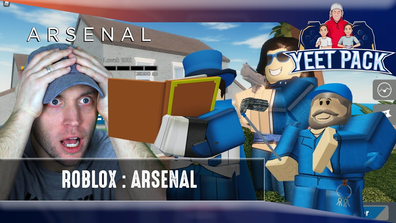 NO Aimbot Enabled!  TRUST US! Headshot Only Challenge! Roblox Arsenal!