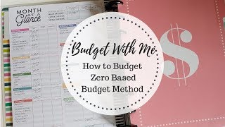 Budget With Me | Dave Ramsey's Zero Based Budget | How to Budget on a Low Income