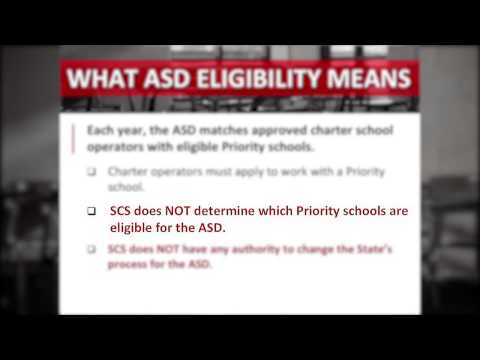 What It Means To Be A Priority School