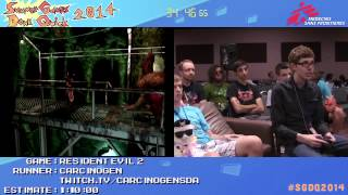 Summer Games Done Quick 2014 - Part 39 - Resident Evil 2