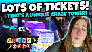 Video WHOA! That's a UNIQUE Crazy Tower! WINNING Lots of Tickets and Arcade Jackpots at the Arcade! TeamCC download MP3, 3GP, MP4, WEBM, AVI, FLV Agustus 2018