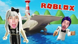 Roblox: HAI JAGT NINA + KAAN! EXTREME LAPS AT SHARKBITE!