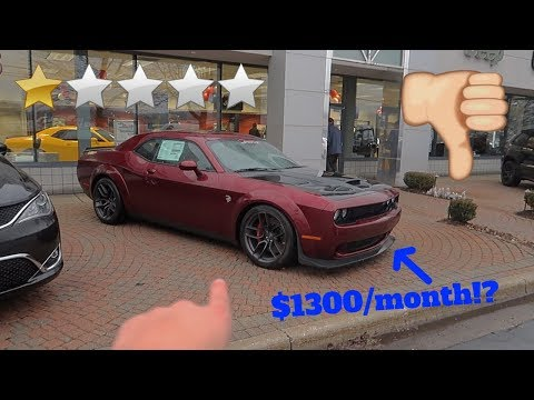 I WENT TO THE WORST DODGE DEALERSHIP EVER! *TERRIBLE*
