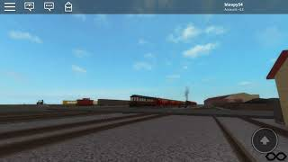 Strasburg railroad roblox pulling in station
