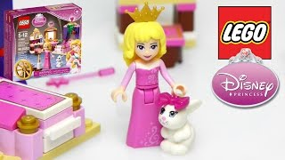 LEGO Disney Princess Sleeping Beauty's Royal Bedroom Unboxing Building and Play 2015 - Kids Toys